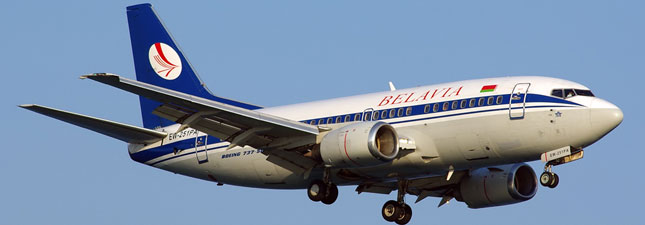 Boeing 737-500 (Боинг 737-500) — Белавиа