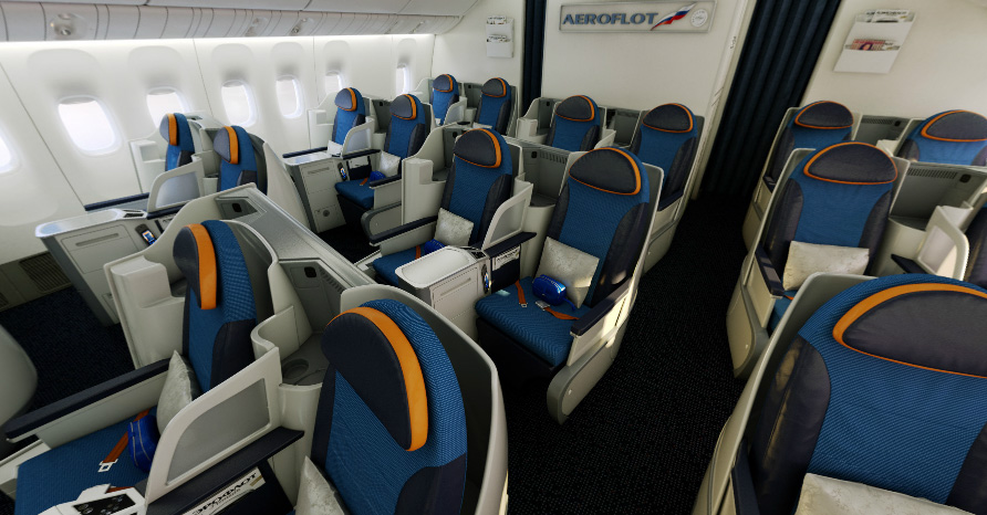 Боинг 777 300 схема салона аэрофлот лучшие места