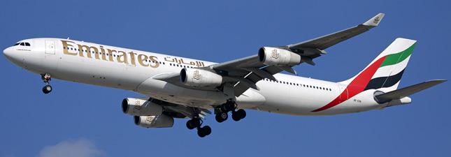 Airbus A340-300 Emirates