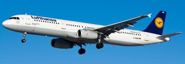Airbus A321-200 Lufthansa
