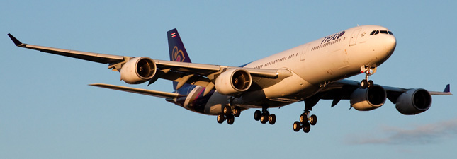 Airbus A340-500 Thai Airways International