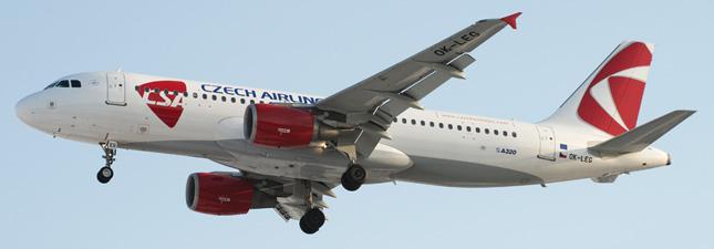 Airbus A320-200 Чешские авиалинии