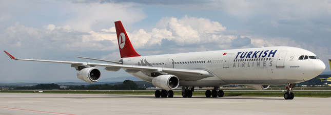 Airbus A340-300 Turkish Airlines