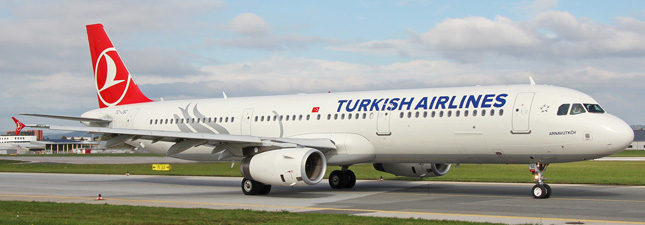 Airbus A321-200 Turkish Airlines