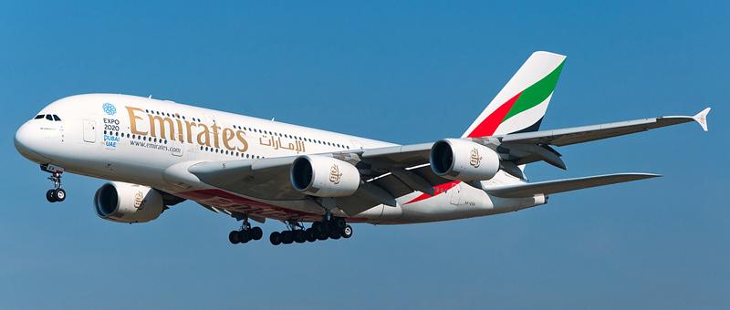 Схема салона Airbus A380-800 — Emirates. Лучшие места в самолете