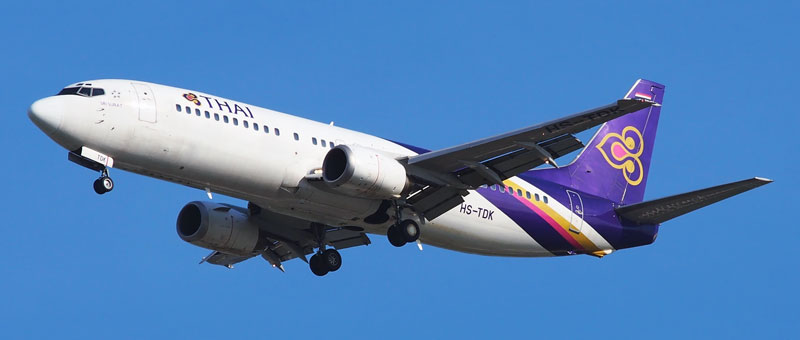 Thai Airways Boeing 737-400