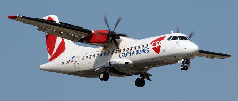 ATR 42 Чешские авиалинии