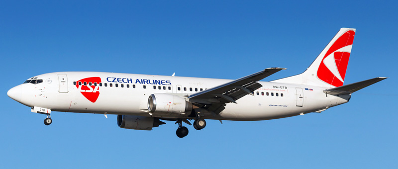 Czech Airlines Boeing 737-400