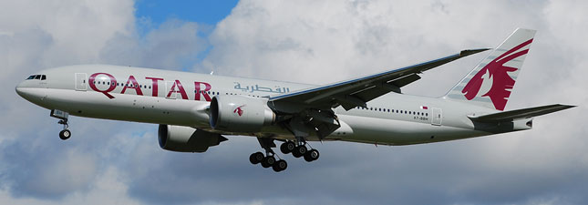 Boeing 777-200 Qatar Airways