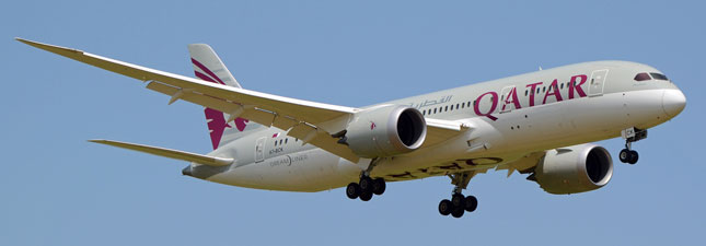 Boeing 787-8 Dreamliner Qatar Airways