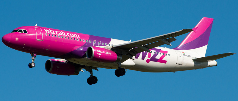 Схема салона Airbus A320 — Wizz Air. Лучшие места в самолете