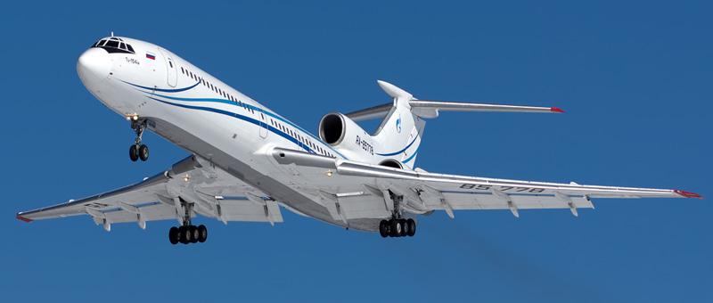 Tupolev-Tu-154M Gazpromavia