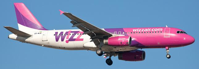Airbus A320-200 Wizz Air Украина
