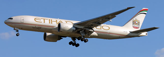 Boeing 777-200 Etihad Airways