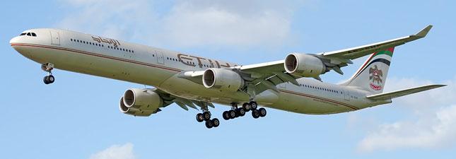Airbus A340-600 Etihad Airways