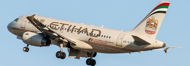 Airbus A319-100 Etihad Airways