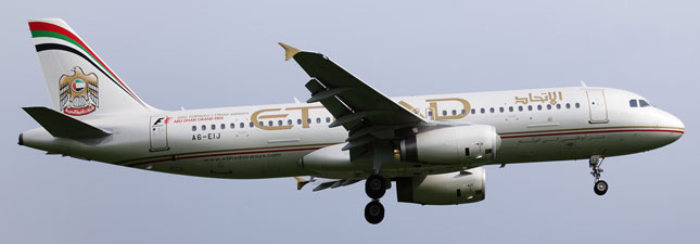 Airbus A320-200 Etihad Airways