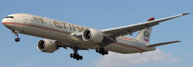 Boeing 777-300 Etihad Airways