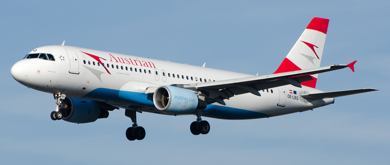Airbus A320-200 Austrian Airlines