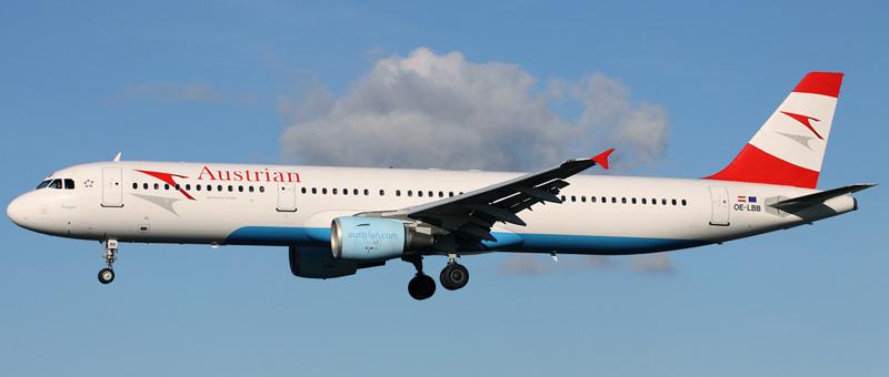 Airbus A321-100 Австрийские авиалинии