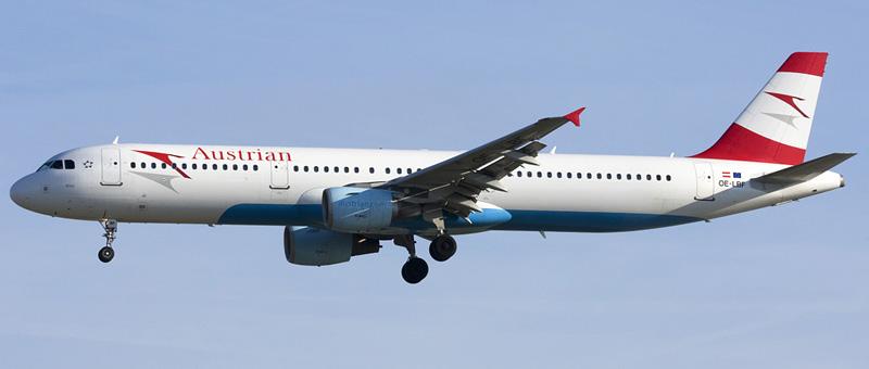 Airbus A321-200 Austrian