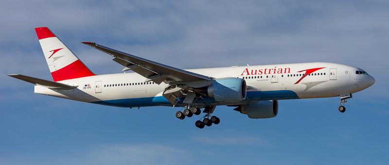 Boeing 777-200 Австрийские авиалинии