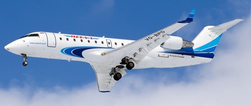 CRJ-200LR Ямал