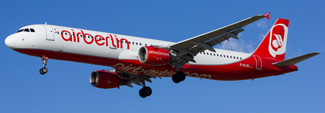 Airbus A321-200 Air Berlin