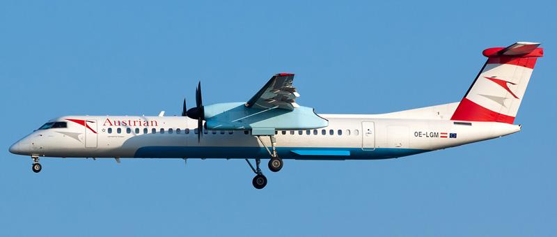 DHC-8-400 Австрийские авиалинии