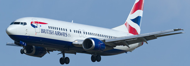 Boeing 737-400 British Airways