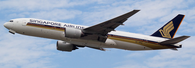 Boeing 777-200 Singapore Airlines