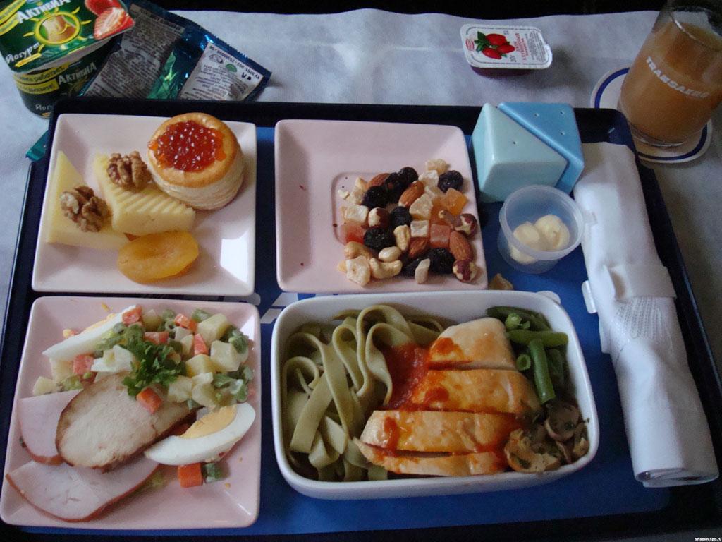 горячее питание бизнес класс