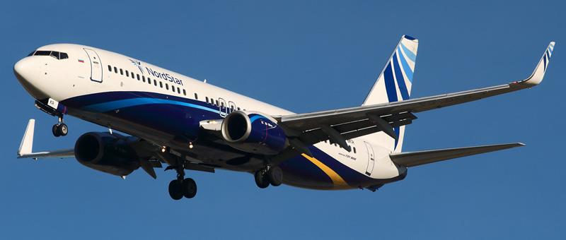 Boeing 737-800 (Боинг 737-800) — Nordstar. Фотографии и описание