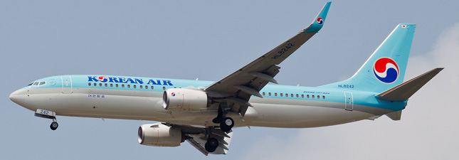 Boeing 737-800  Korean Air Lines
