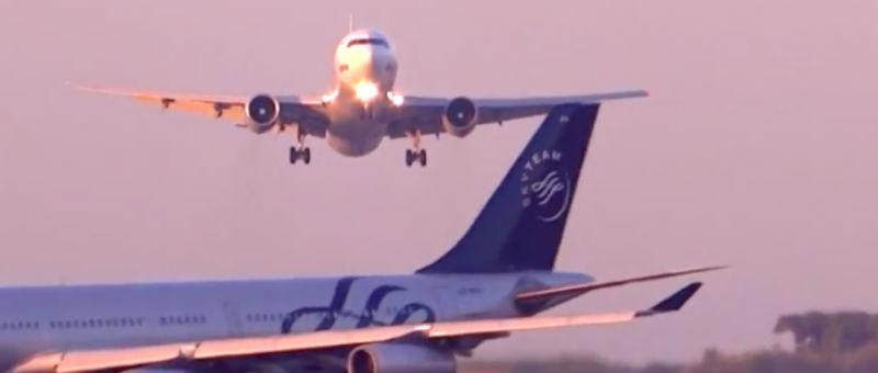 В Барселонском аэропорту чудом удалось избежать трагедии