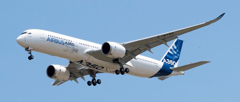 В Москве приземлился новый Airbus