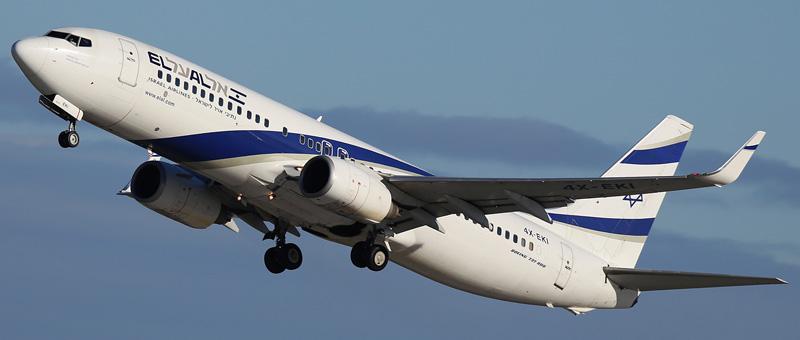 Boeing 737-86N El Al