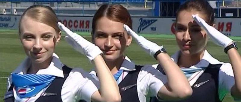 Авиакомпания «Россия» перекрасит самолет в цвета Зенита