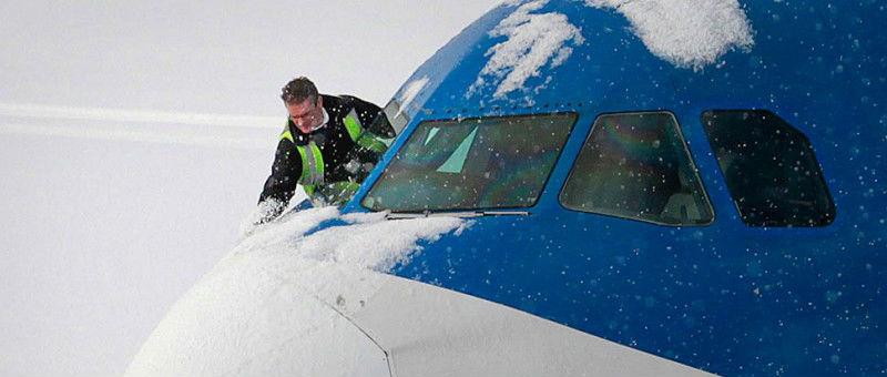 Снег не помешал работе столичных аэропортов