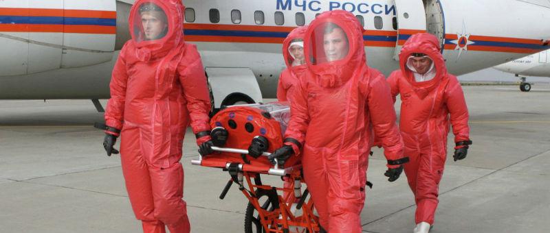 Московские аэропорты станут фильтрами Эболы
