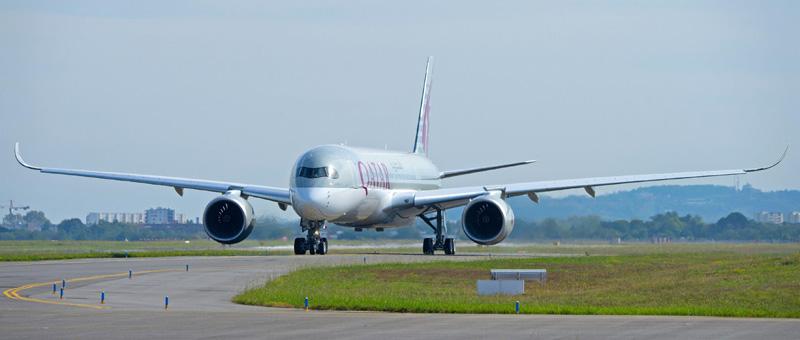 Первый серийный Airbus A350 XWB готов к полетам