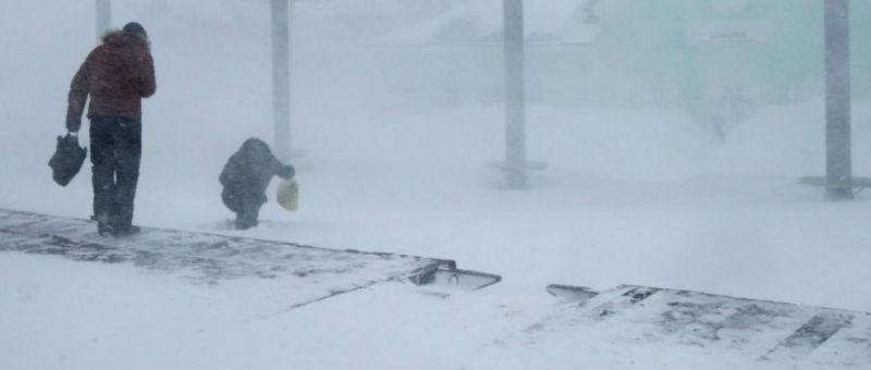 Сильный циклон стал причиной задержек в аэропорту Хабаровска