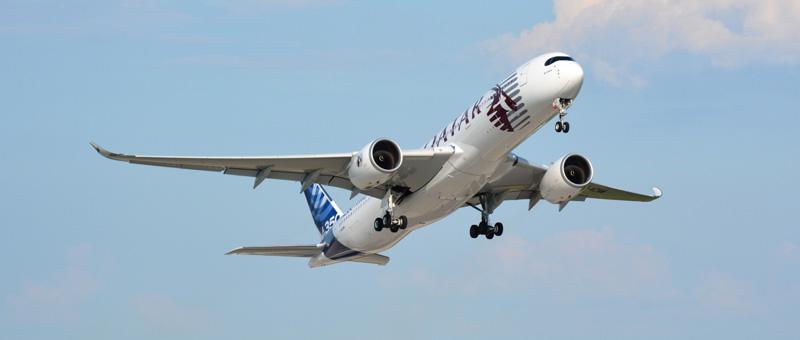 Airbus и Qatar Airways объявили дату поставки первого Airbus A350 XWB