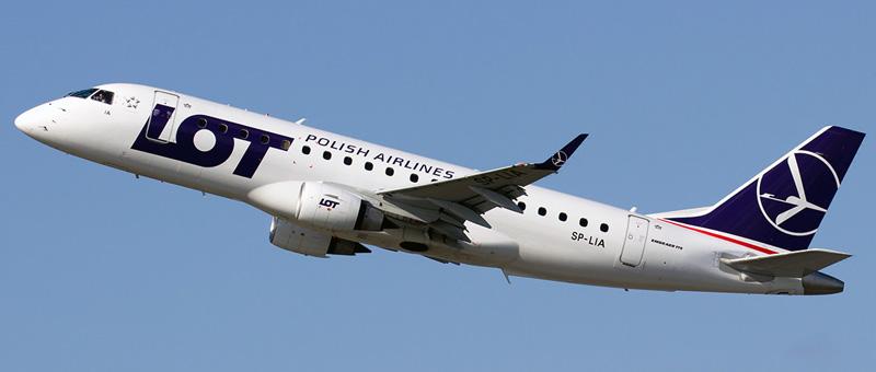 LOT Embraer ERJ-175STD