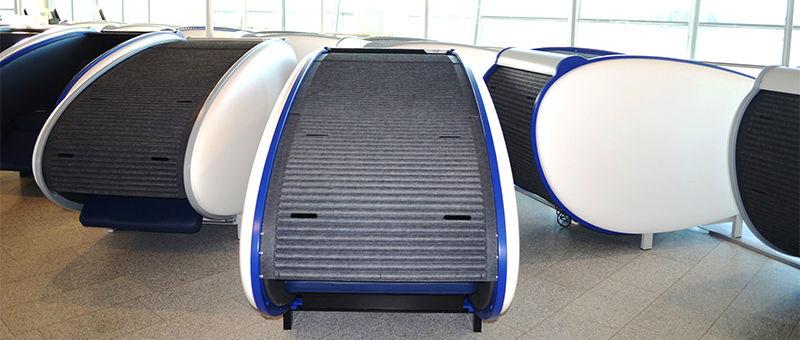 В аэропорту Хельсинки появились кабины для сна