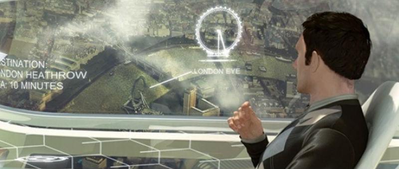 В самолетах Airbus появятся интерактивные окна