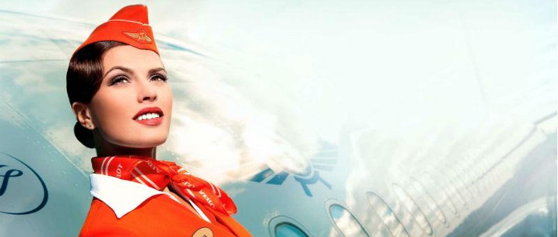 В топ-3 самых красивых стюардесс мира попали сотрудницы Аэрофлота