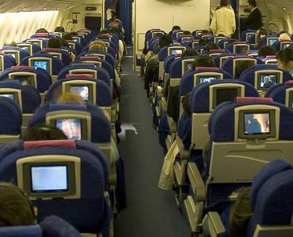 Пассажирка потребовала $5 млн. за неработающее ТВ в самолете