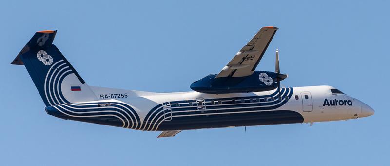 Bombardier DHC-8-300 Аврора. Фото и описание самолета