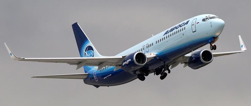 Boeing 737-800 Алроса. Фотографии и описание самолета